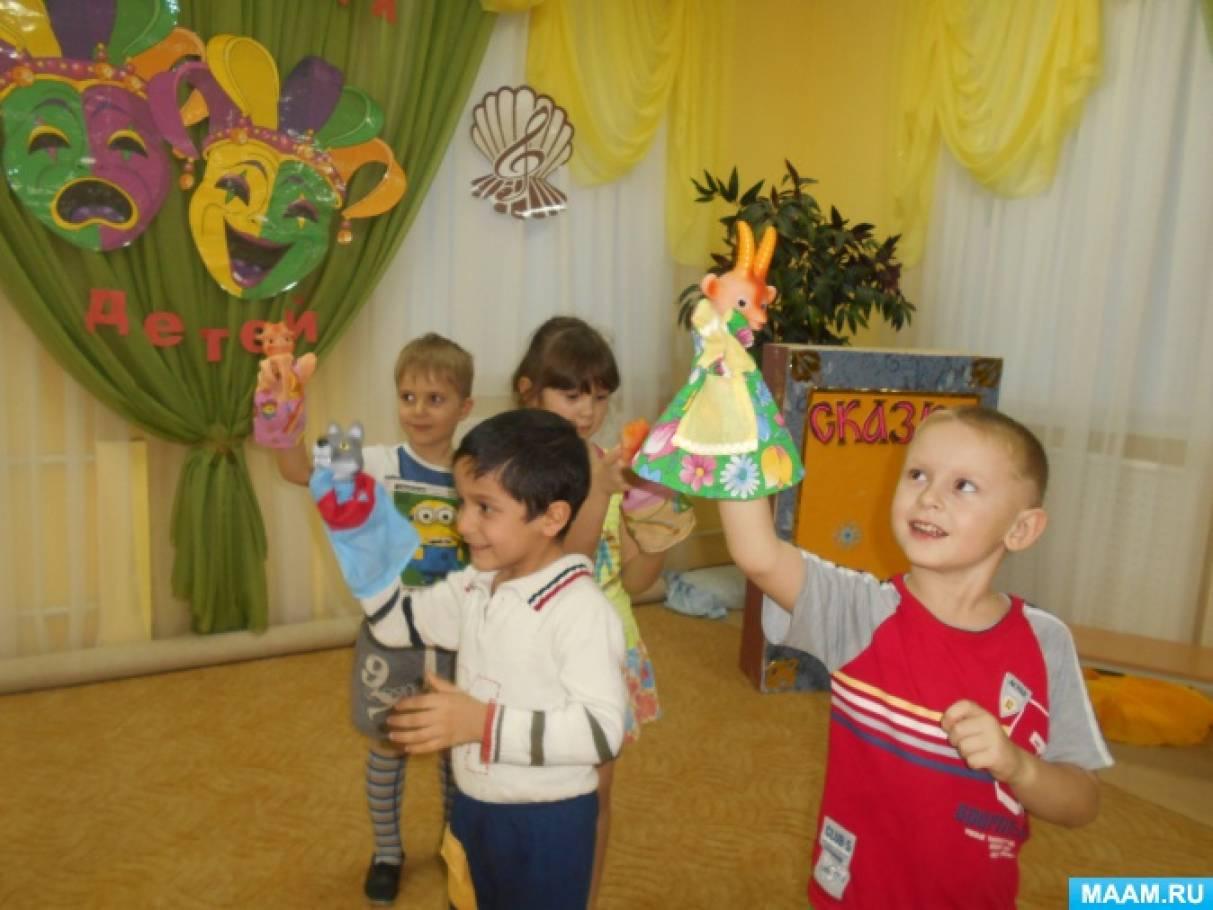 Сценарий для дошкольников театрализованная