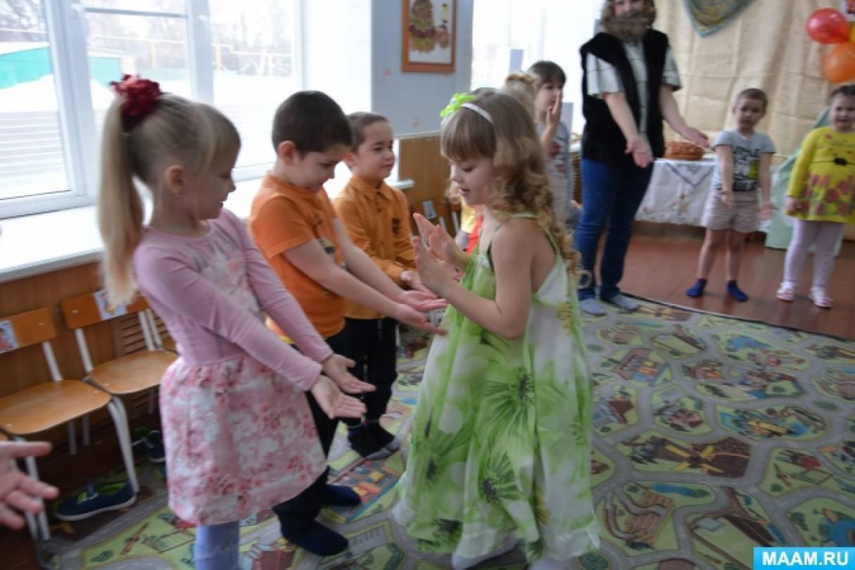 Фотоотчет о празднике в русско-народном стиле «Масленица — 2018»