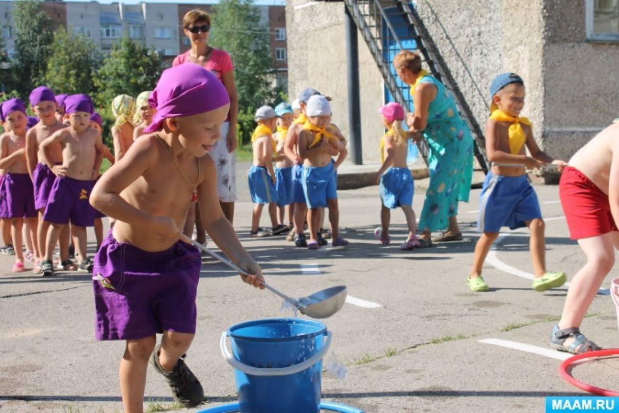 Конкурсы и эстафеты к детскому празднику