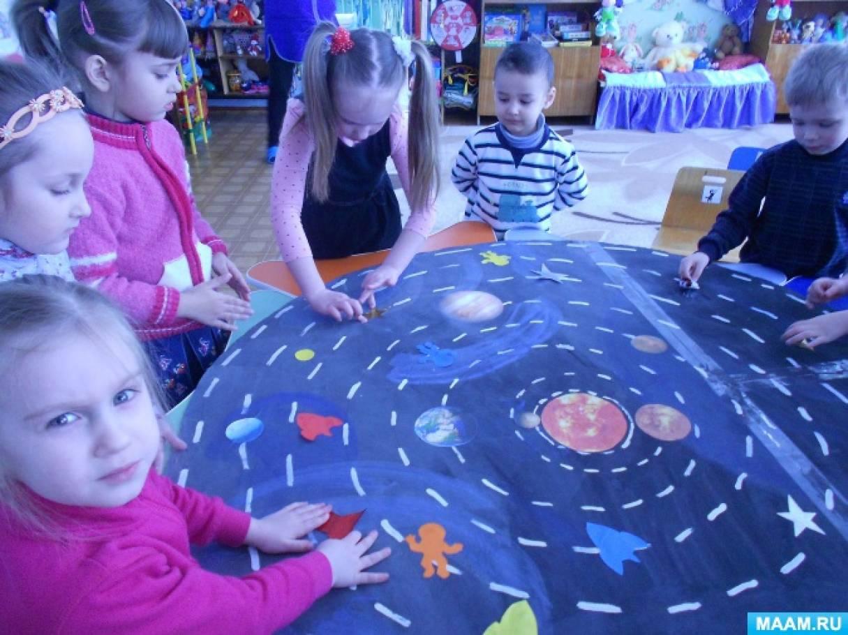 Мероприятие к 12 апреля — Дню Космонавтики