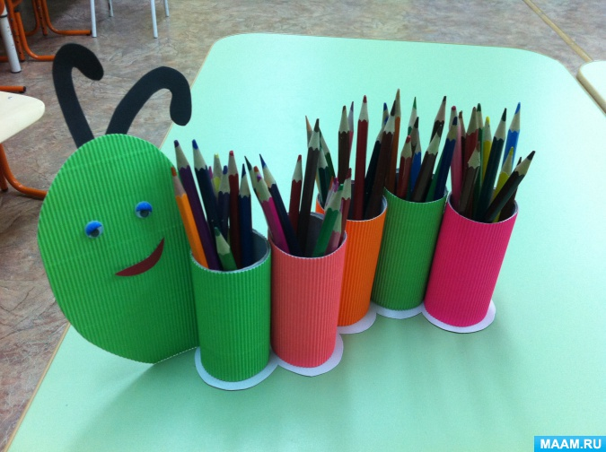 Как сделать карандашницу своим руками