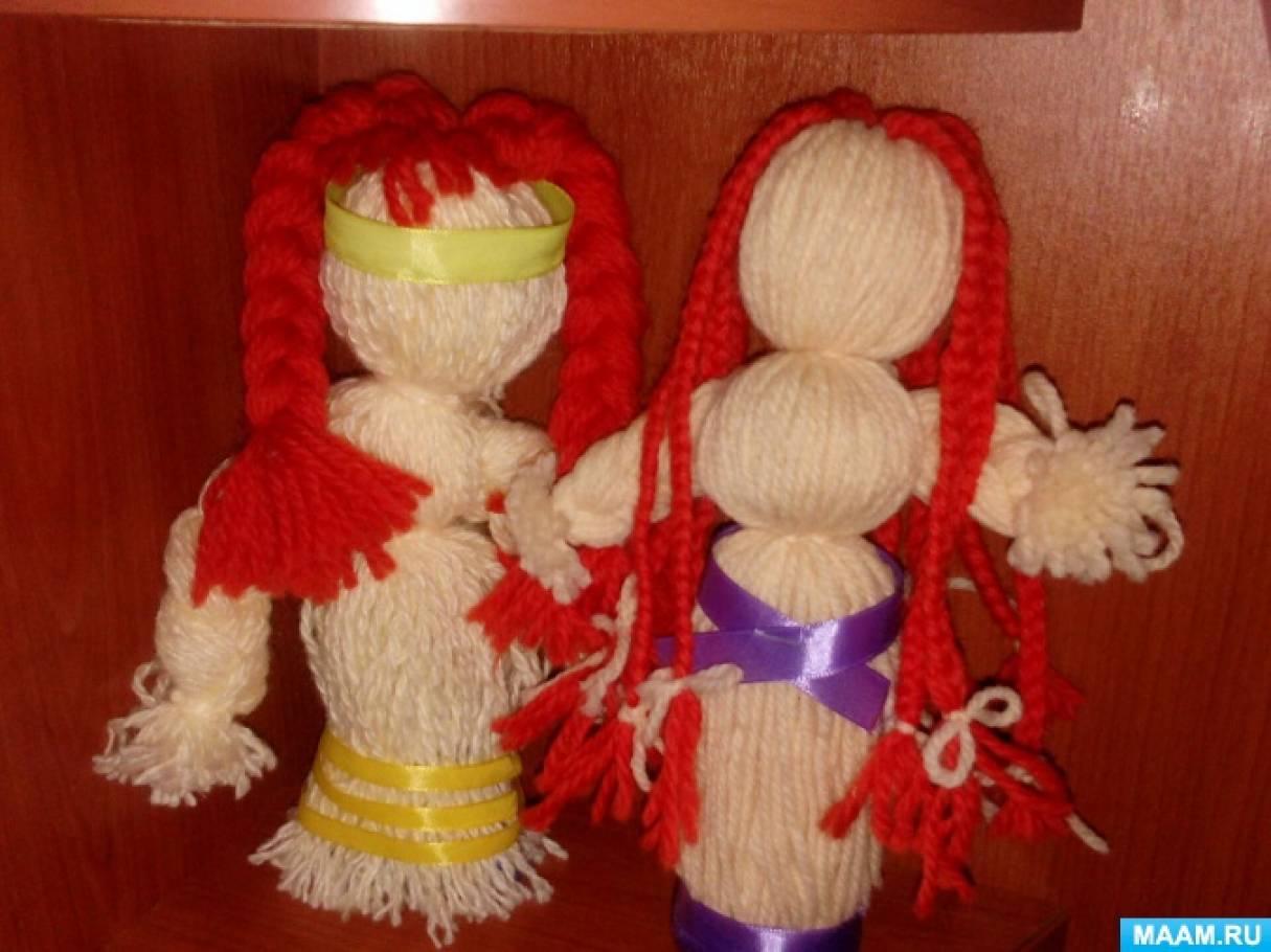 Фотоотчет «Мое новое увлечение. Куклы-обереги из ниток»