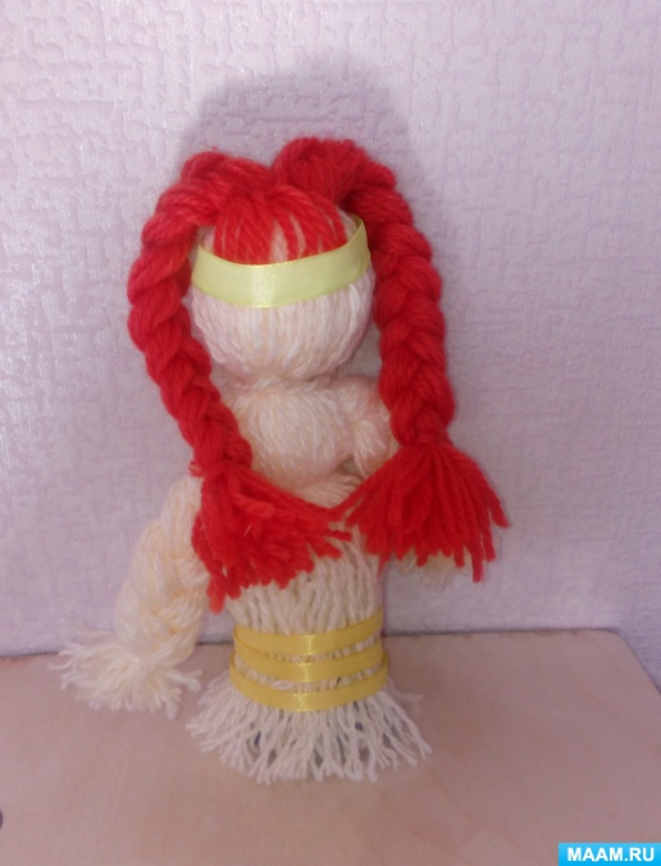 Мастер-класс «Кукла-оберег из ниток»