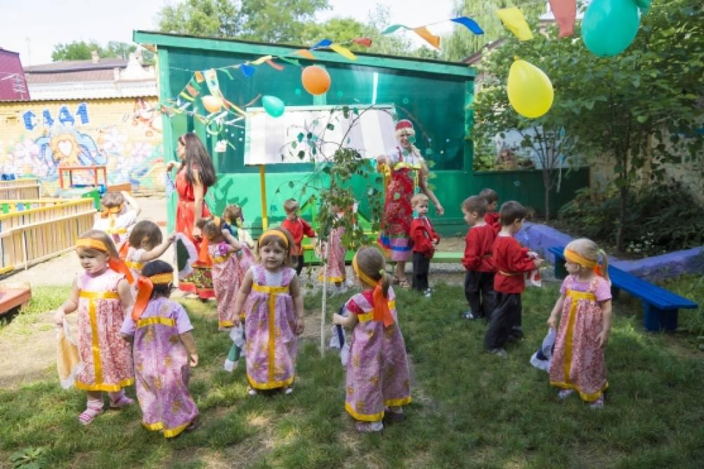 Сценарий праздника русской березки в доу
