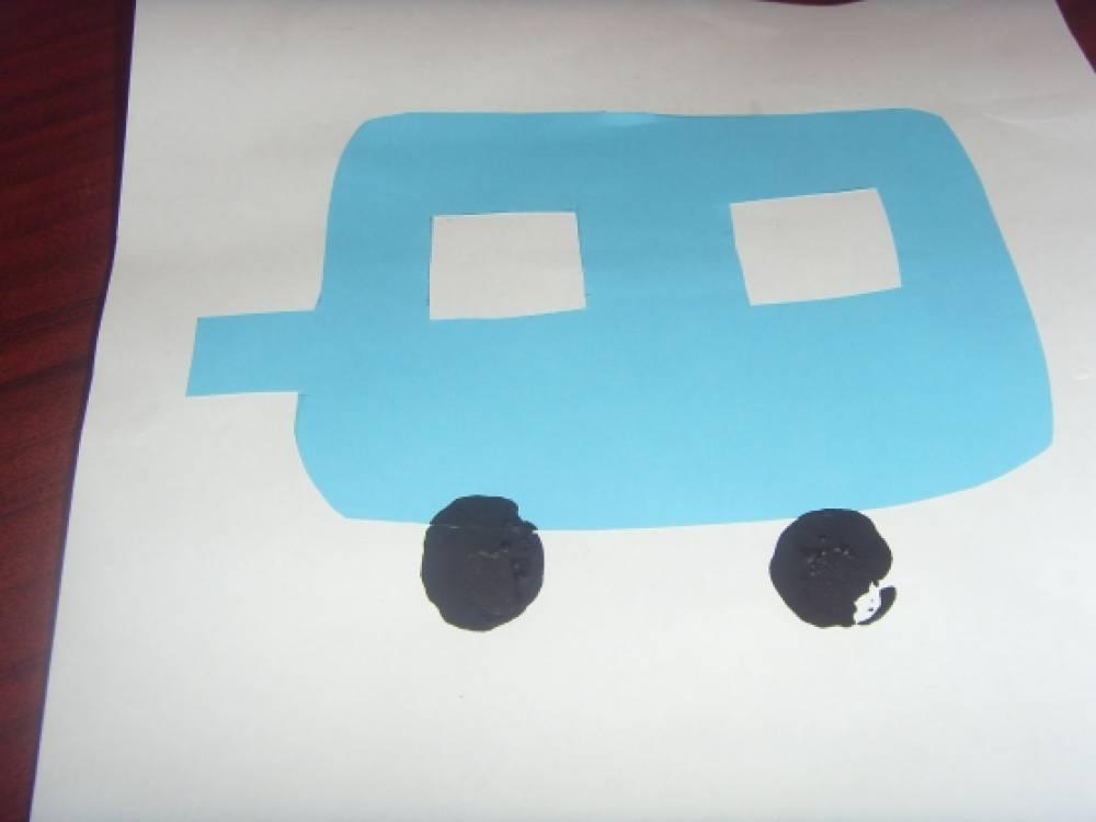 Как нарисовать вагончики 94