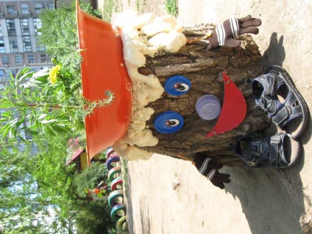 Игры на участке детского сада своими руками