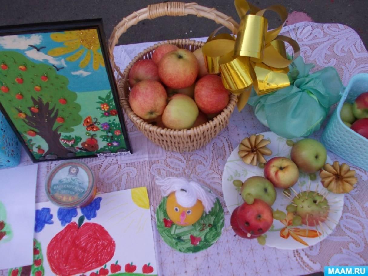 Поделки на тему фрукты для детского сада
