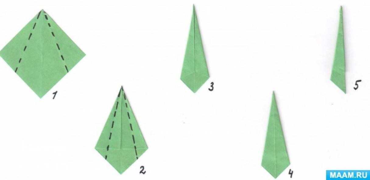 Конспект НОД по конструированию в подготовительной группе «Лебеди. Путешествие квадрата»