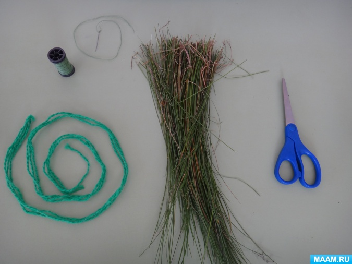 Поделки из природного материала травы 23