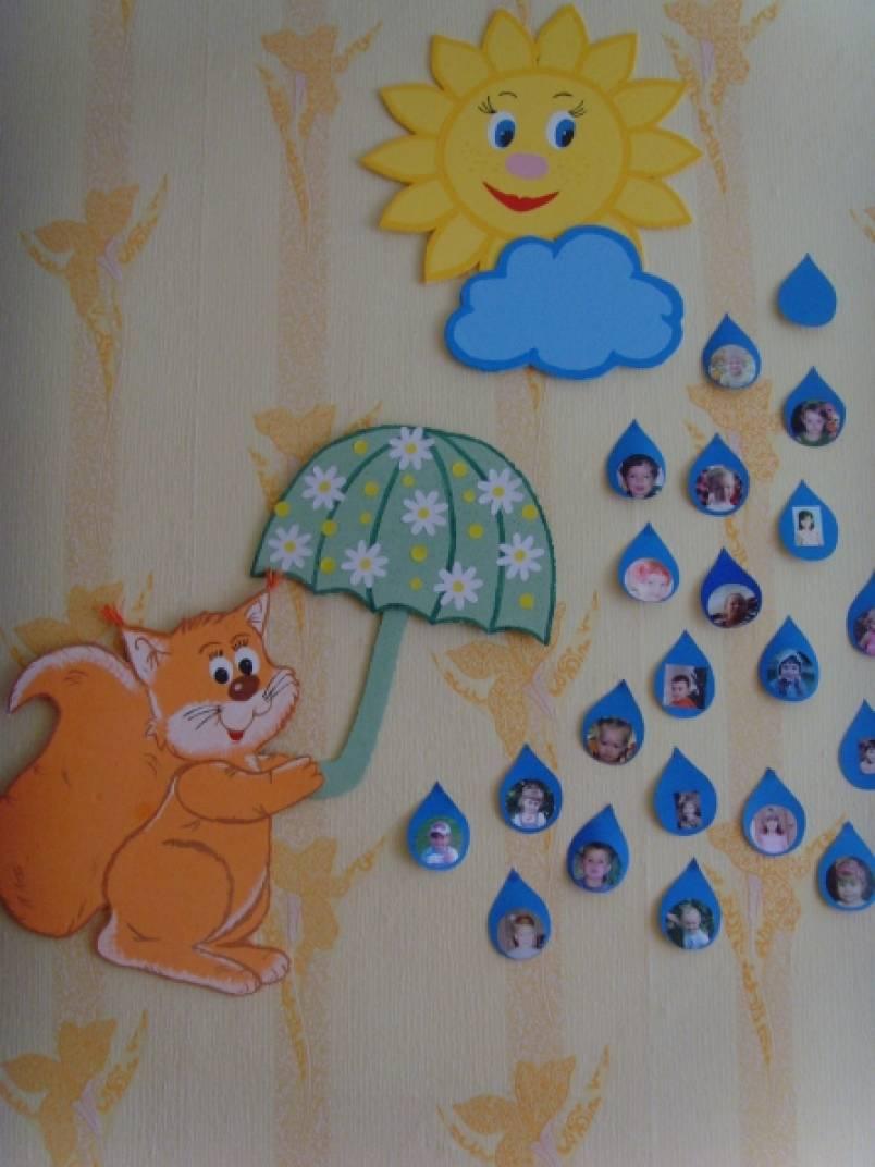 Поделки для детского сада на стене 825