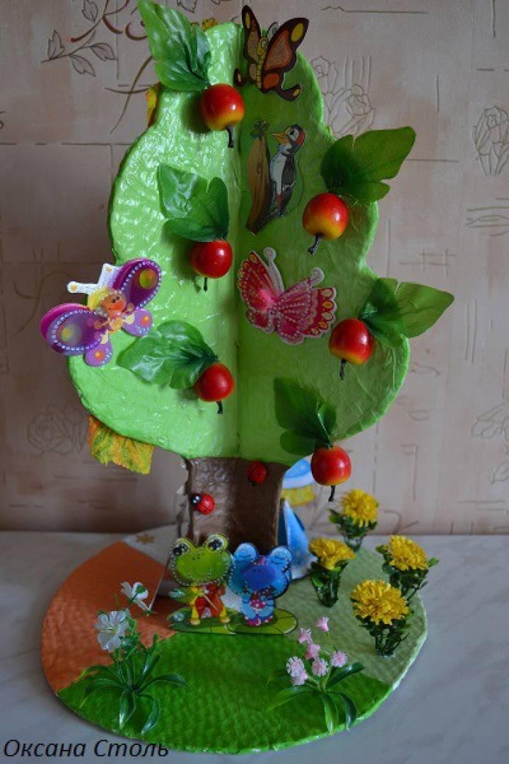 Как сделать в детском саду деревья времена года своими руками