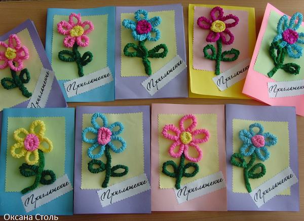 Лилия с конфетами из гофрированной бумаги своими руками