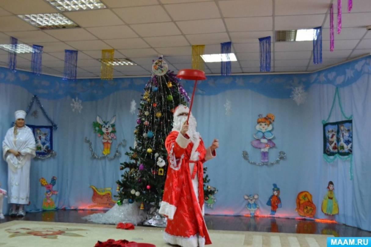 Предновогоднее творчество и яркие моменты новогоднего праздника