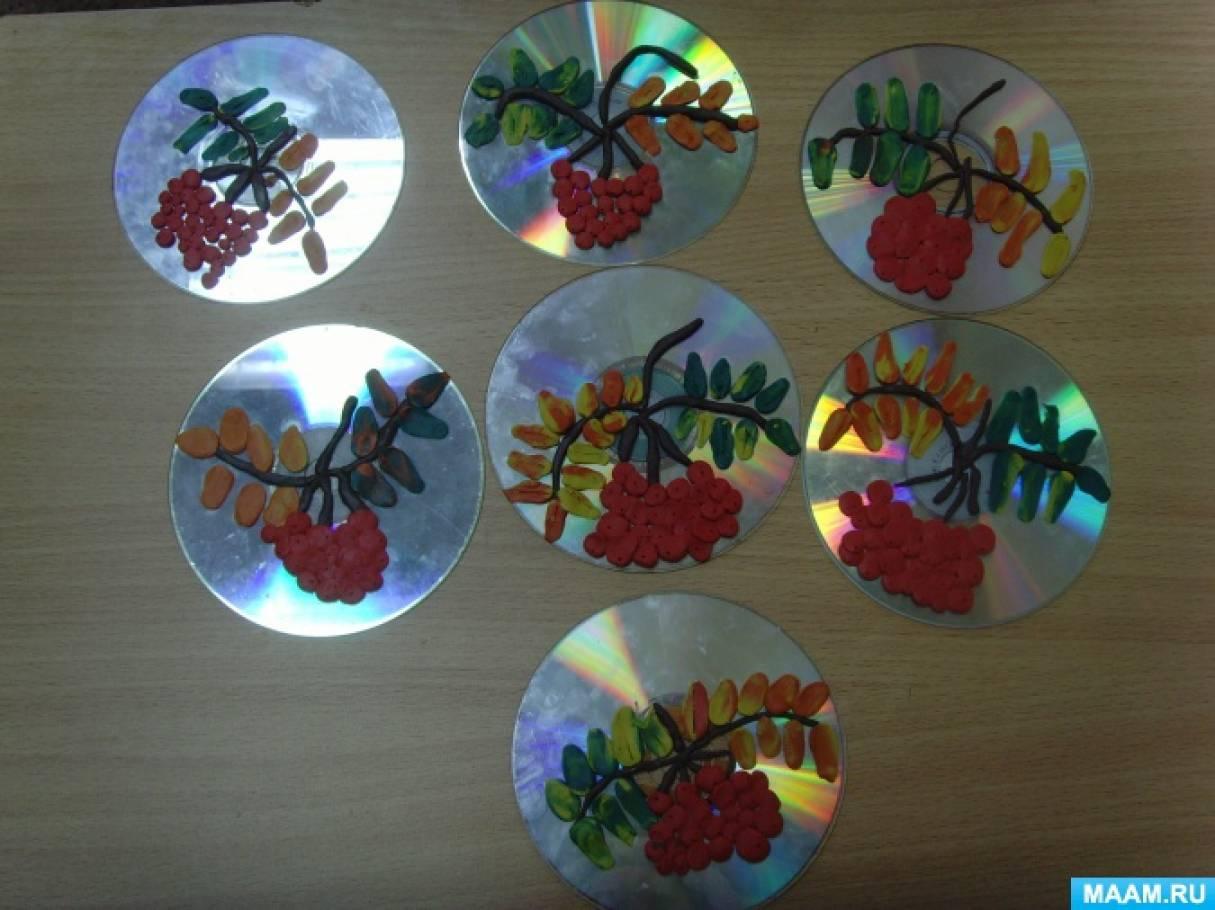 Конспект занятия поделки из дисков 489