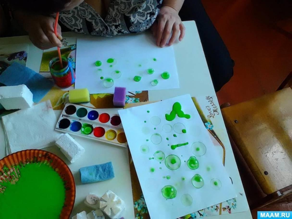 Мастер класс для педагогов рисование