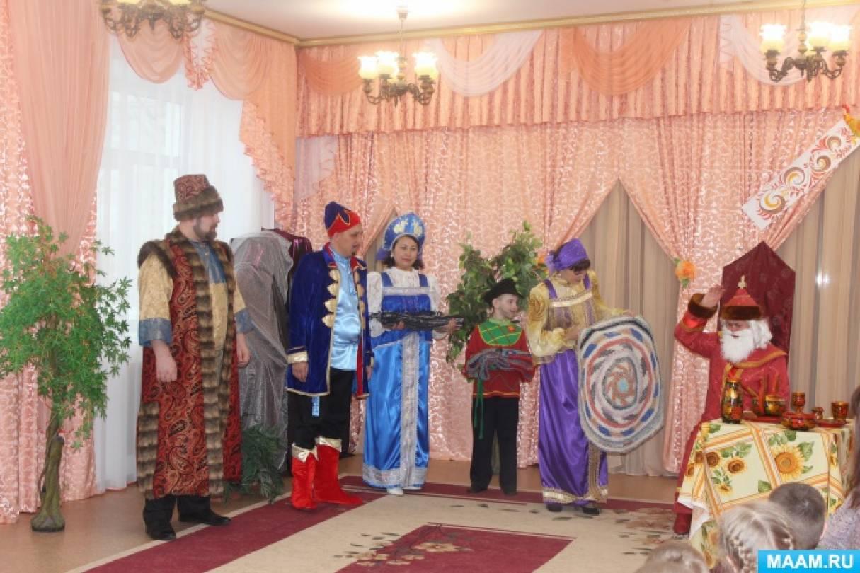 Спектакль «Лягушка-царевна» в «Теремке»
