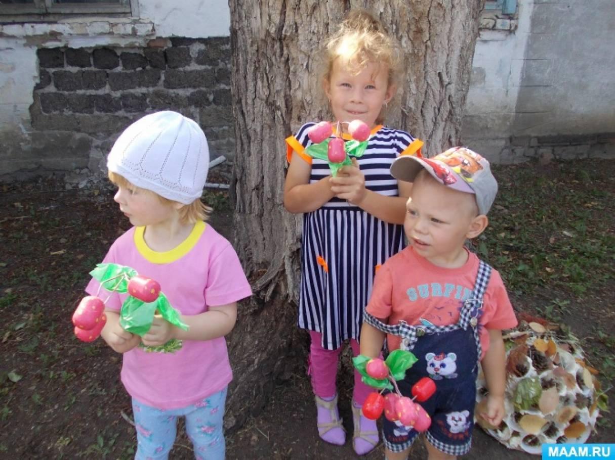 Оборудование участка для самостоятельной игровой деятельности детей летом