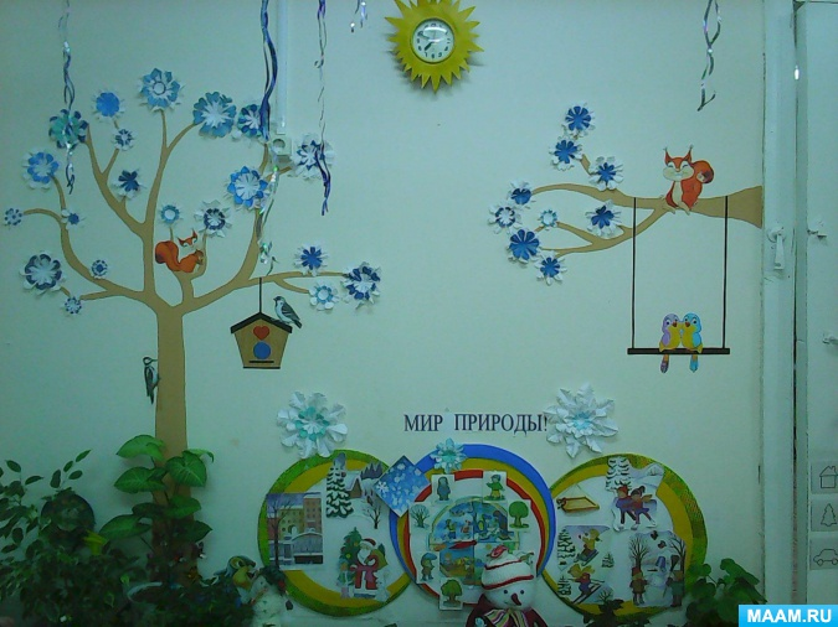 Картинки в детсаду уголок природы