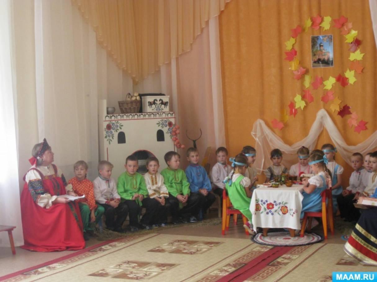 Фотоотчёт фольклорный праздник «Покров»