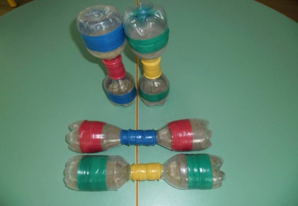 Физкультурное оборудование из подручных материалов фото