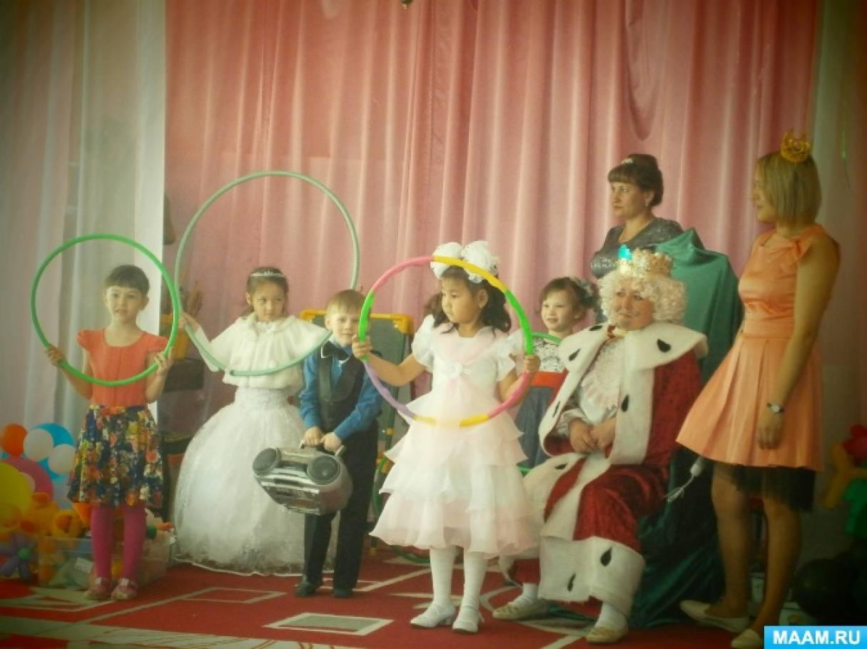 знакомство с песней в детском саду