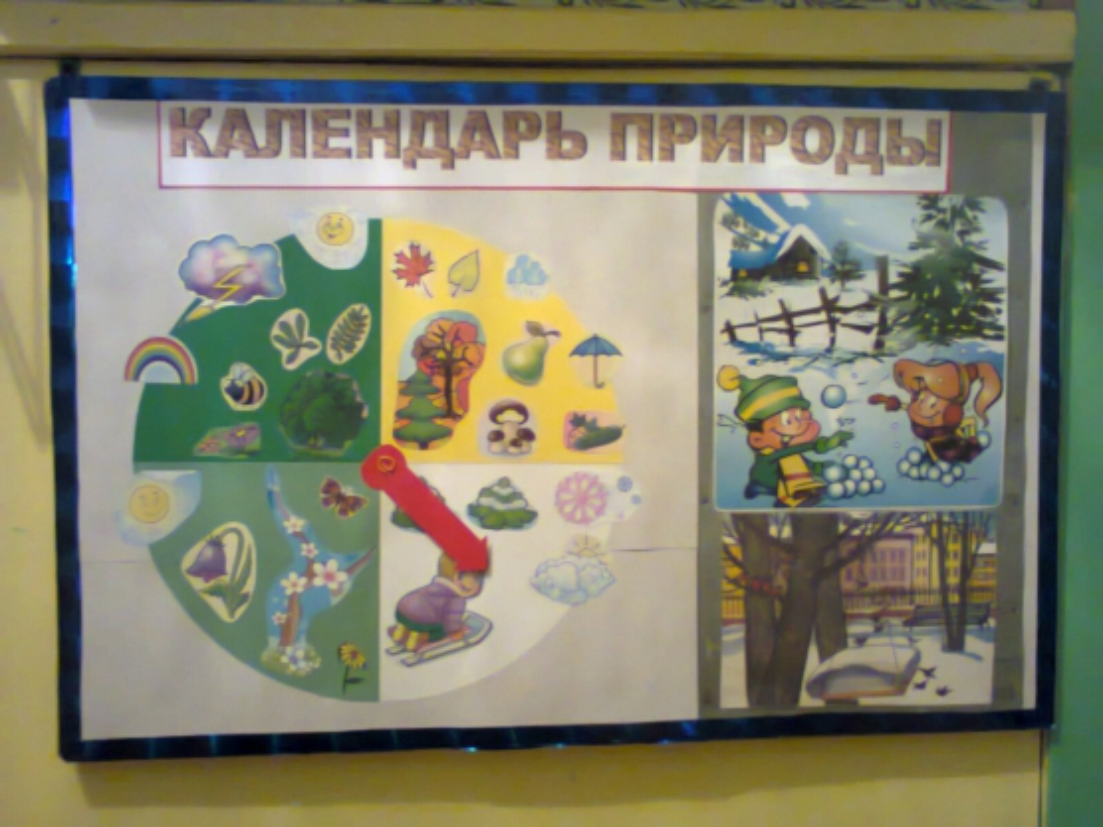 Картинки времен года в календарь природы