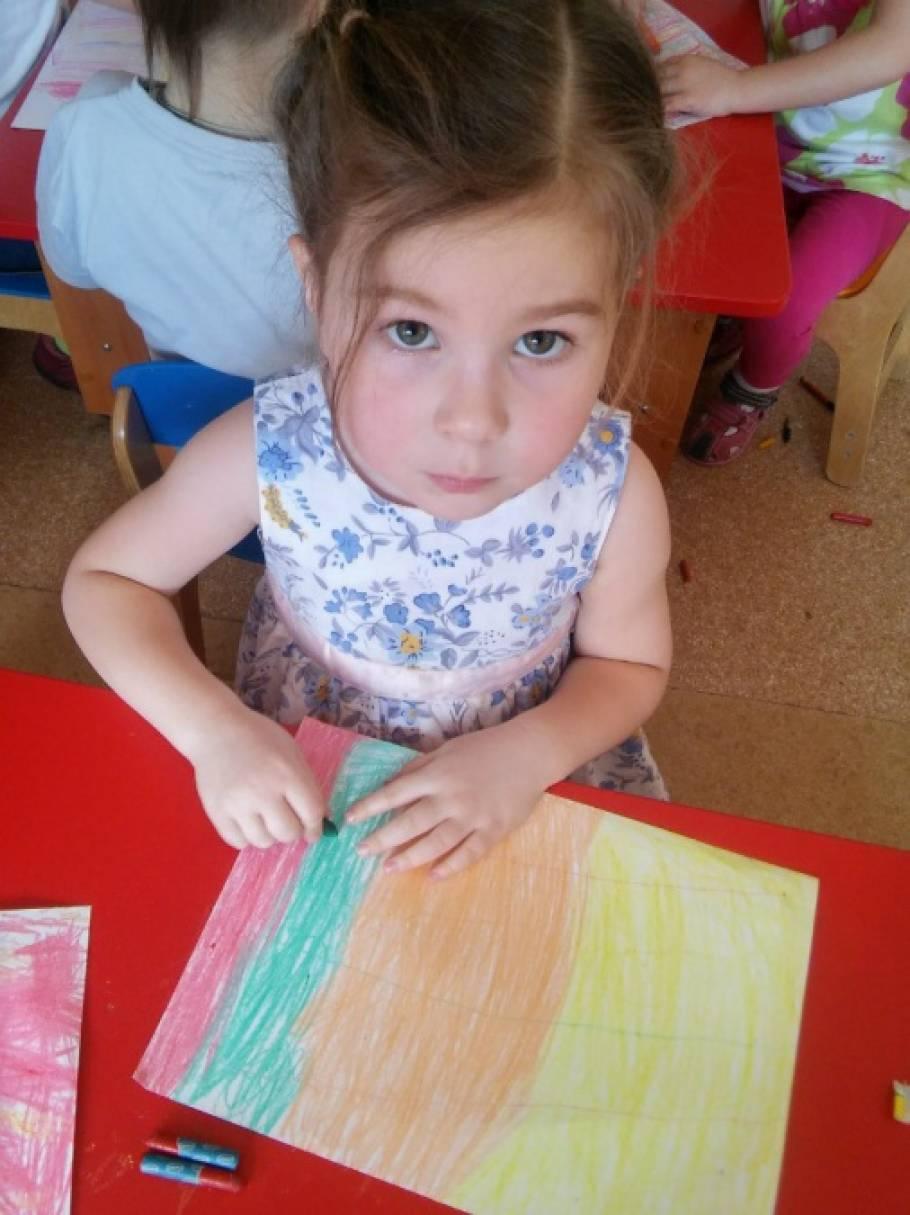 Рисунки в нетрадиционной технике для детей