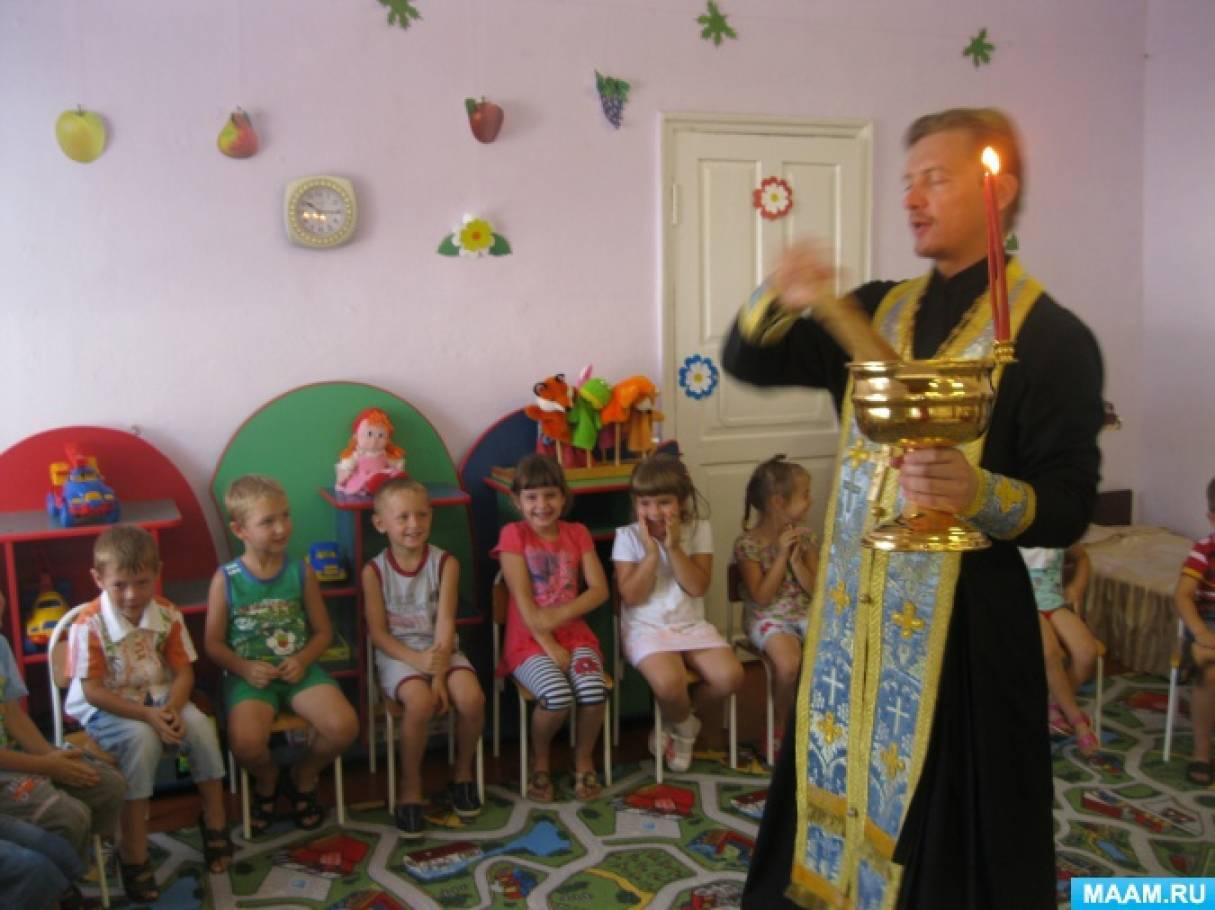 знакомство с русским и традициями в доу