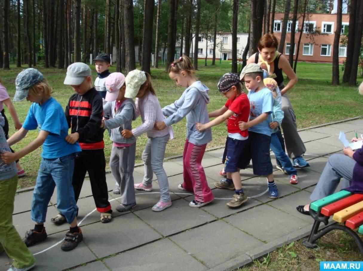 Из опыта работы педагога-психолога в летнем оздоровительном лагере для школьников