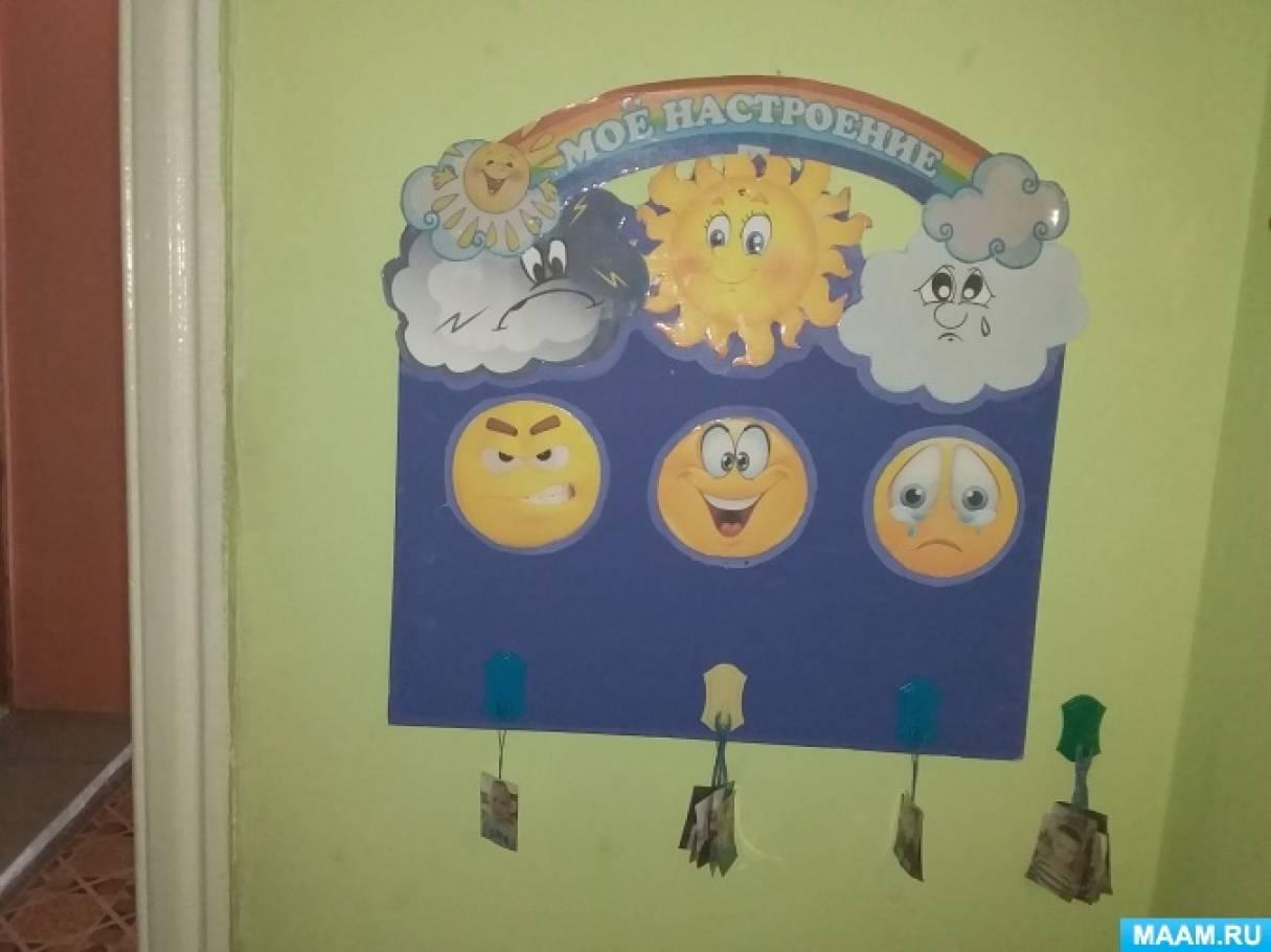 Картинки уголок настроения будильник