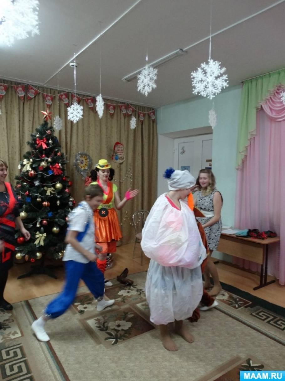 Сценарий новогоднего мероприятия «Новый год с Пеппи»