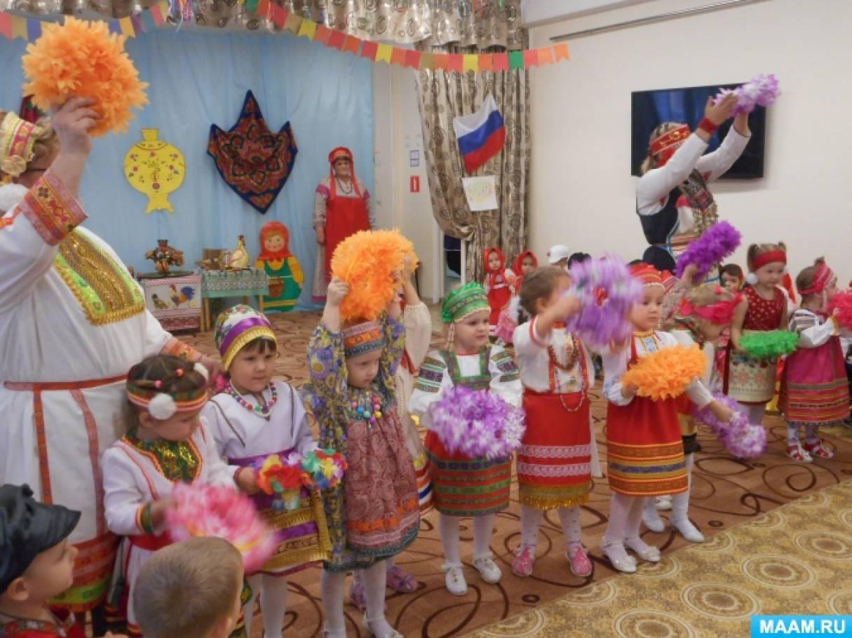 Сценарий национального праздника «Мордовско-русская ярмарка»