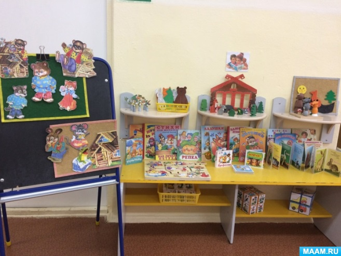 Фоторепортаж «Книжные уголки в группах детского сада»