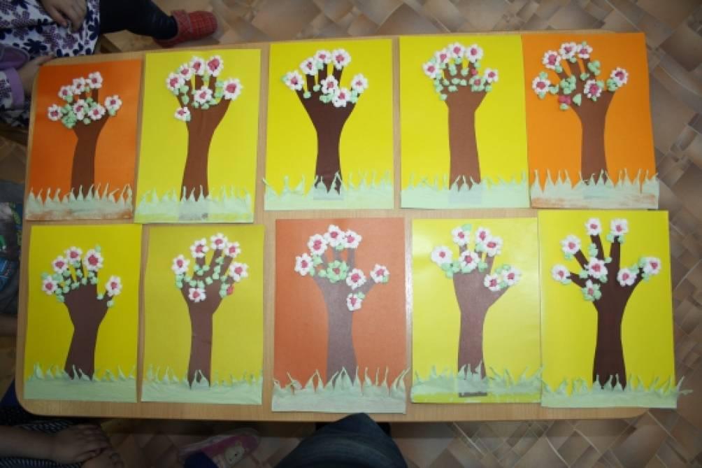 Младшая группа детского сада поделки к 8 марта 58