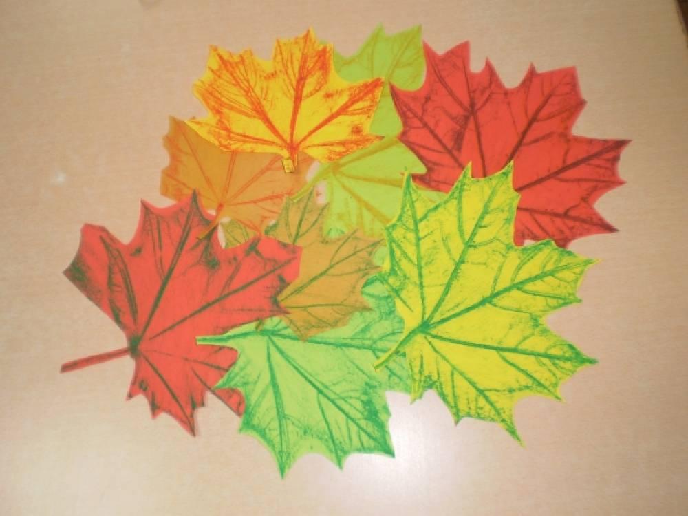 Листья для деревьев своими руками 481