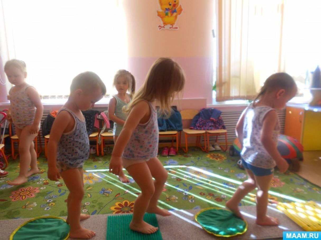 Роль закаливающих процедур в укреплении здоровья детей младшего дошкольного возраста
