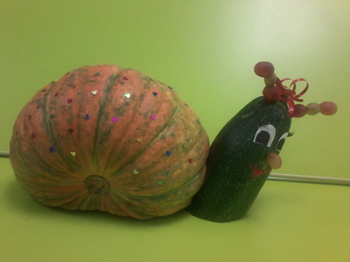 «Осенняя ярмарка». Фотоотчет о выставке поделок из природного материала