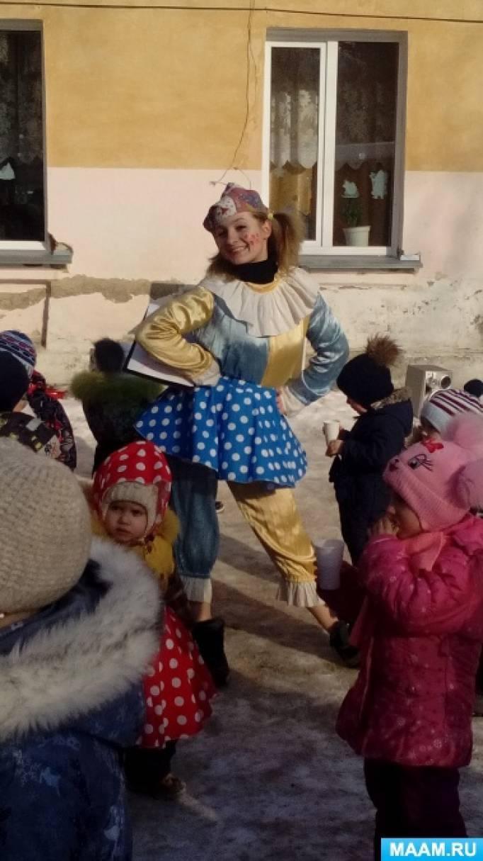 Сценарий праздника «Масленица»— гуляния, развлечения для всех групп