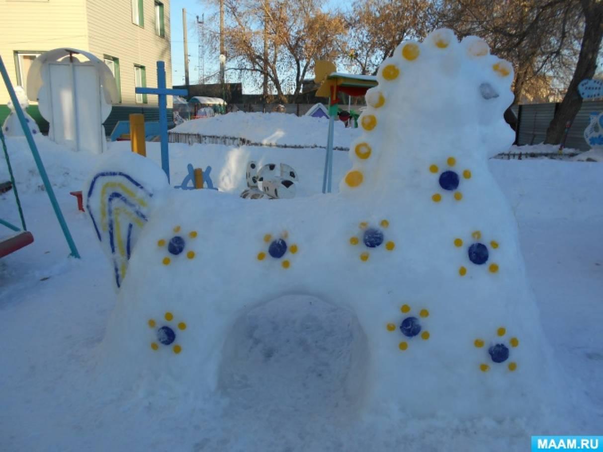 Оформление участка зимой своими руками фото 32