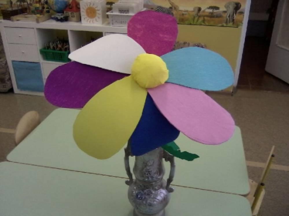 Поделка цветик семицветик своими руками для детского сада