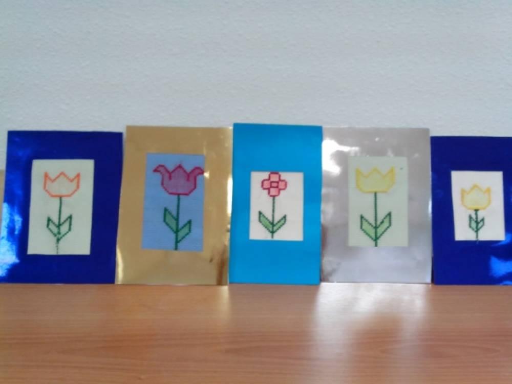 Вышивание «Сказочный цветок»