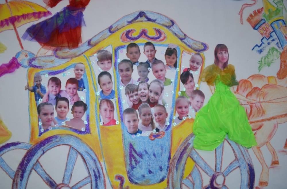 Оформление зала к выпускному балу в детском саду.  Информация о пользователе.