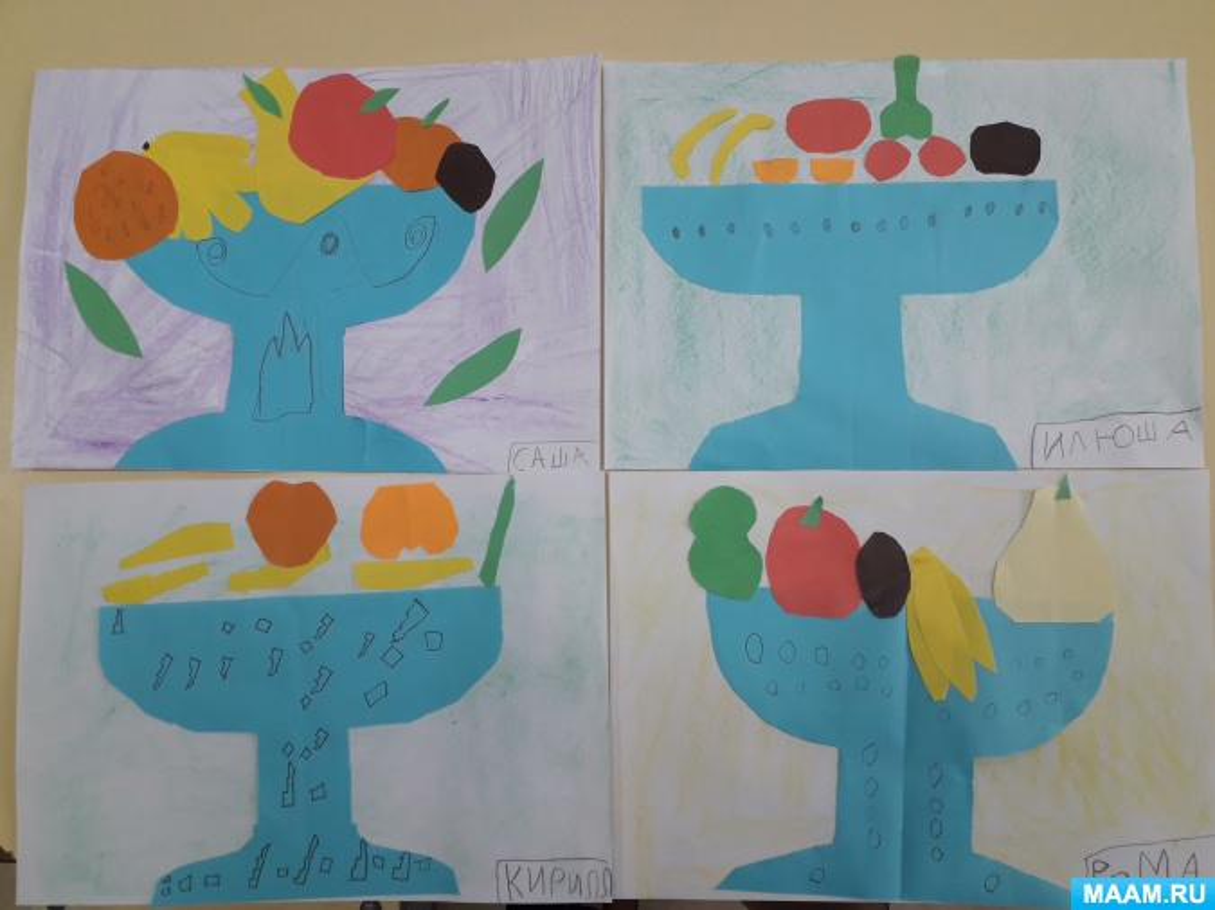 знакомство с фруктами в старшей