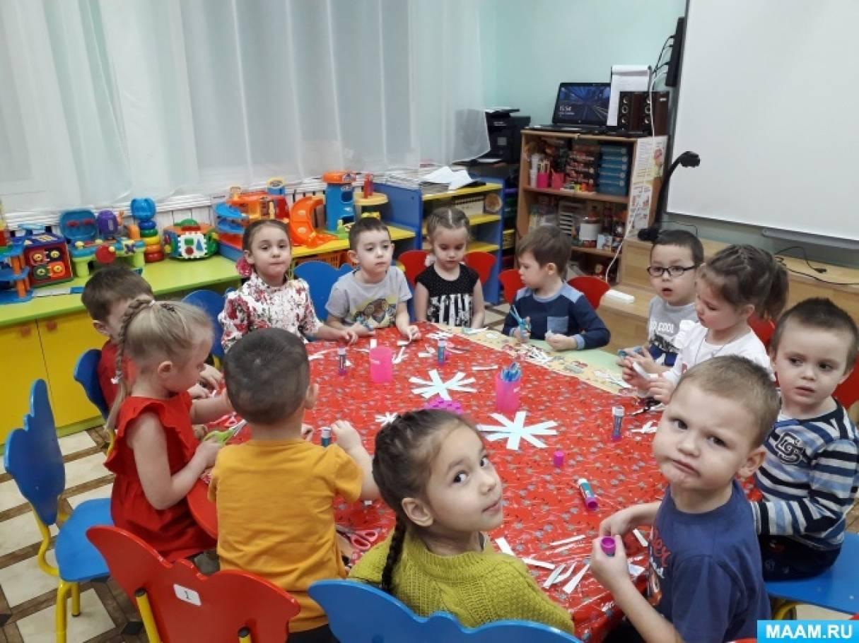 Фотоотчет «Учим ребенка работать с ножницами»