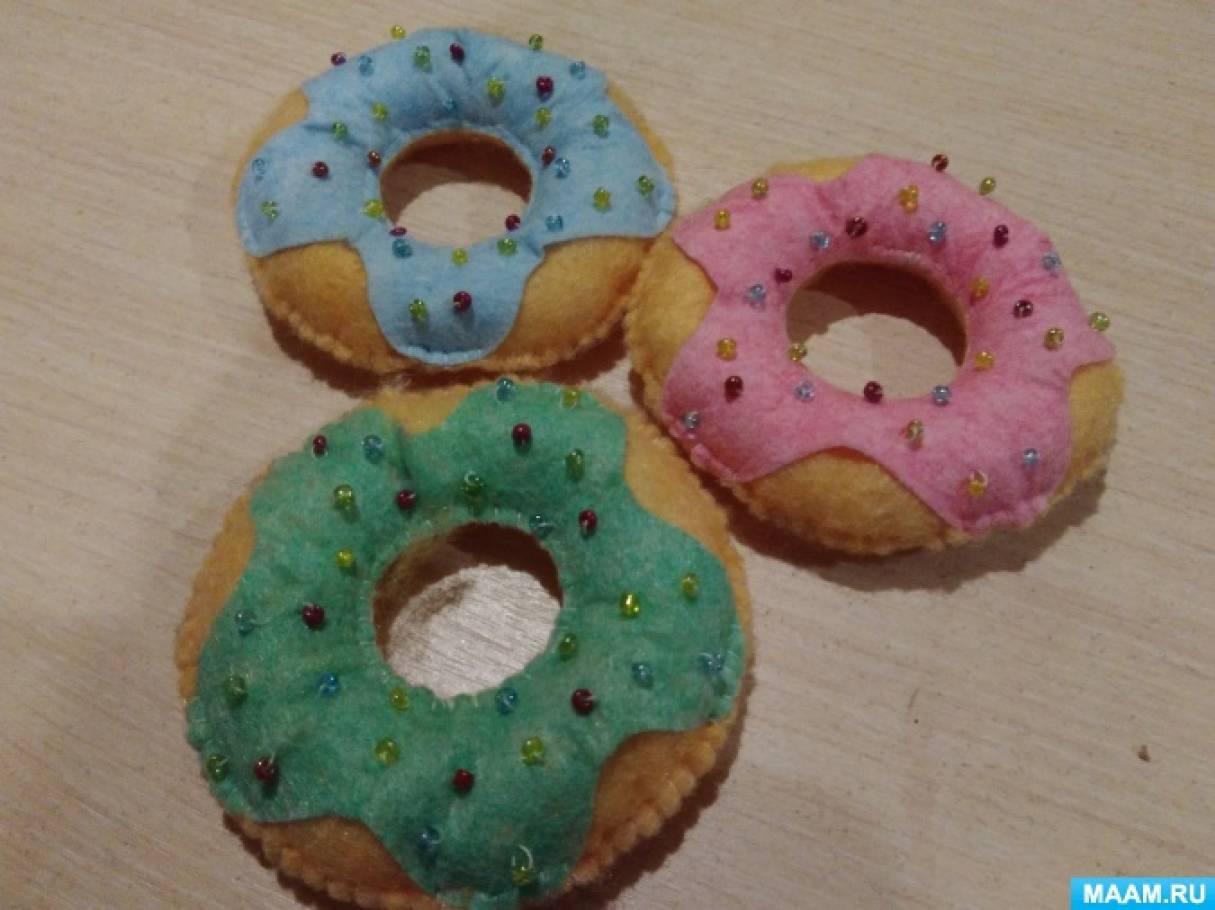 Создание атрибутов для сюжетно-ролевой игры «Магазин», «Кафе». Пончики