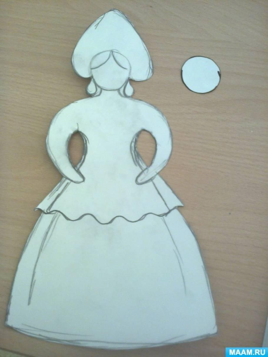 рисование знакомство с дымковской игрушкой