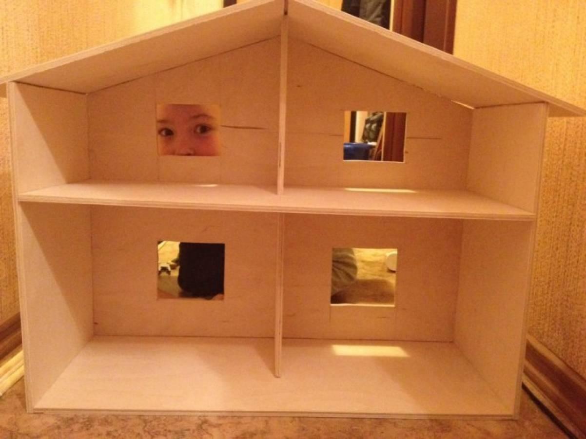 Игрушечные домики из фанеры своими руками фото 238