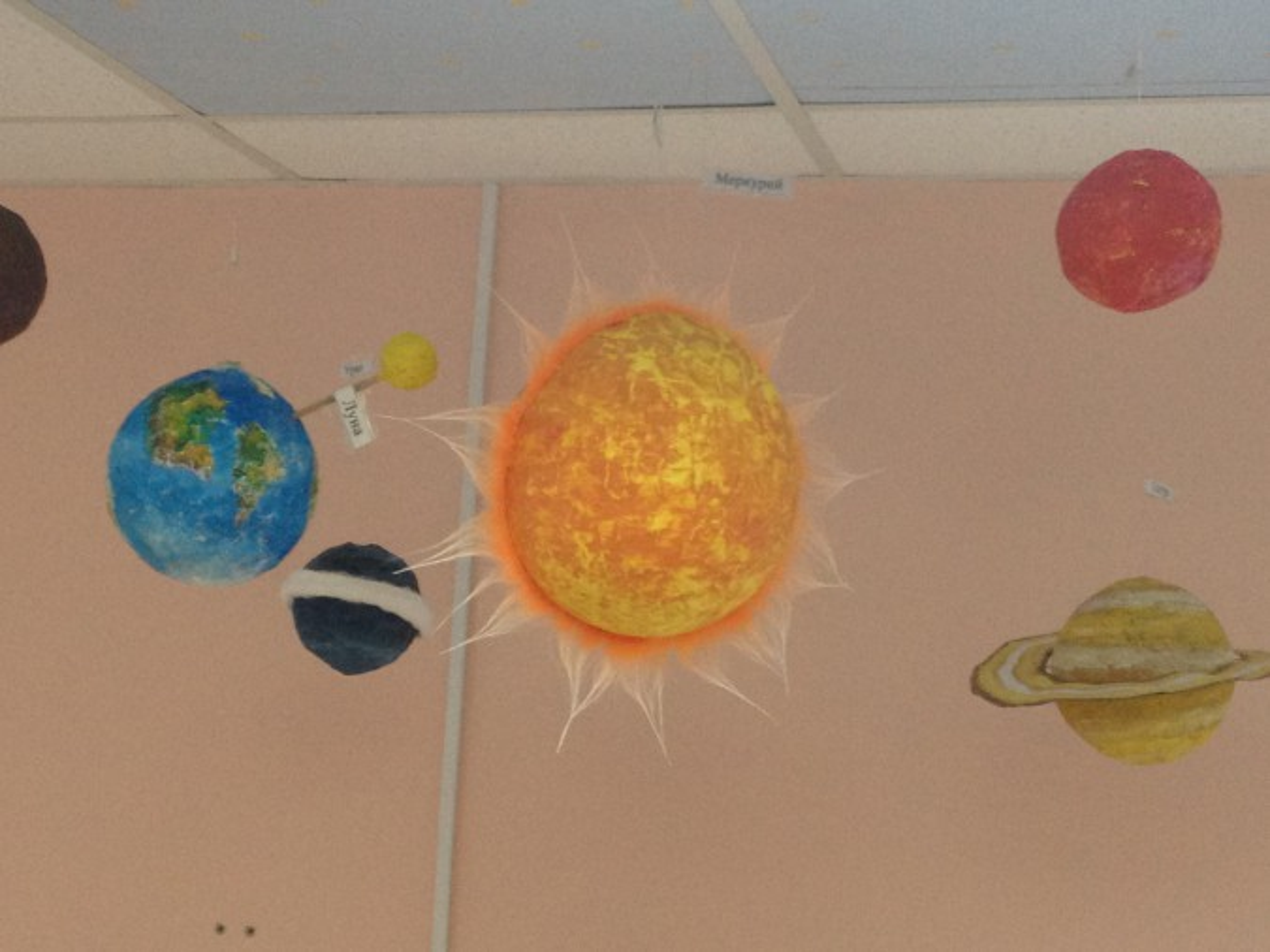 Сделать планету солнечной системы своими руками 678