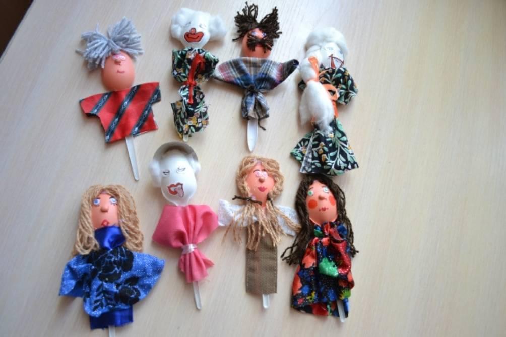 Куклы в театр своими руками