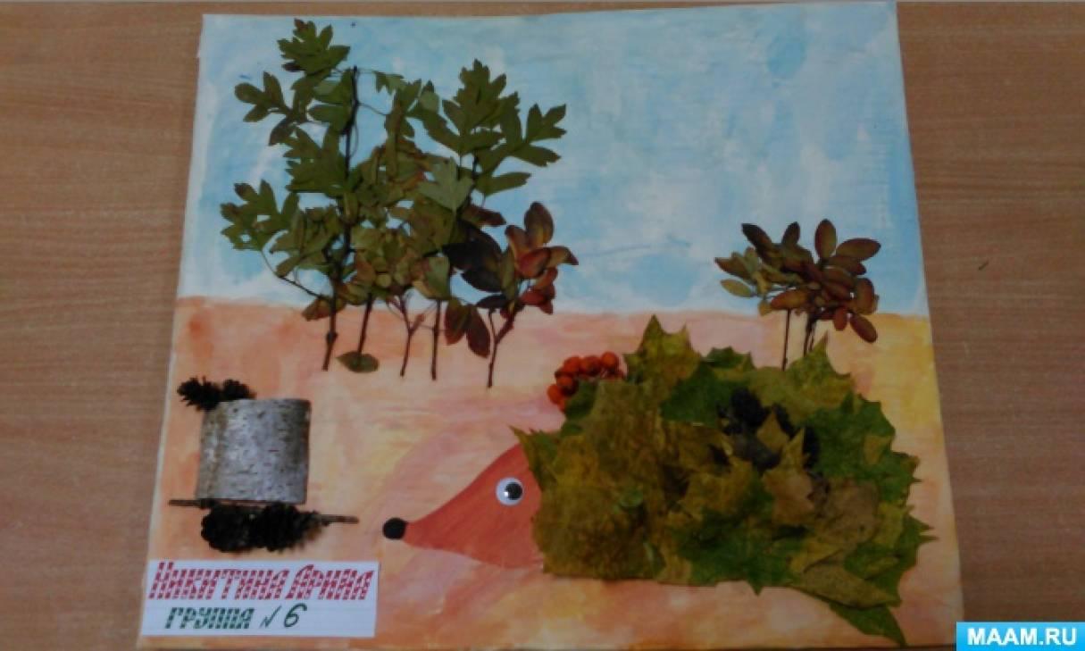 Поделки из природных материалов осень на конкурс